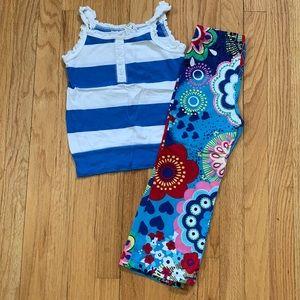 Girls Tank and Pants Bundle